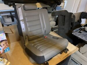 2007 2006 2005 2004 2003 Hummer H2 3rd Third Row Seat WHEAT Gray Leather