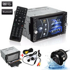 "6.2"" Dual 2 DIN In Dash Car DVD CD USB FM Radio Touch Screen Stereo Radio+Camera"
