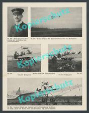 Grulich Harlan-Eindecker Rekordflüge Berlin Gothaer Waggonfabrik Luftfahrt 1912