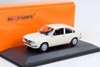 1972 Alfa Romeo Alfasud  weiss 1:43 Maxichamps / Minichamps