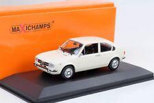 1972 Alfa Romeo Alfasud blanc 1:43 Maxichamps / Minichamps