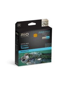 NEW RIO DIRECTCORE TARPON WF-12-F #12 WEIGHT FLY LINE IN SEA GRASS/ORANGE/SAND