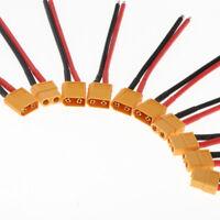 XT60 Männlich Weiblich Stecker Adapterkabel für RC Lipo Akku
