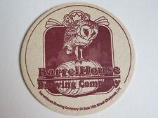 Beer Bar Coaster ~^~ BarrelHouse Brewing Co ~ Cincinnatti, OHIO ~ Opened in 1995