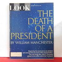 The Death of a President Look Magazine John F Kennedy JFK January 24 1967 RARE!