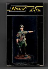 NIMIX N10 - UFFICIALE TEDESCO IN MIMETICA WWII - 54mm RESIN KIT