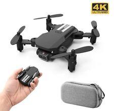 Mini Drone 4K 1080P HD 2020 New Camera WiFi Fpv Air Pressure Altitude Hold Black