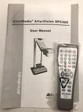 AVerMedia AverVision SPC300 User Manual And Remote
