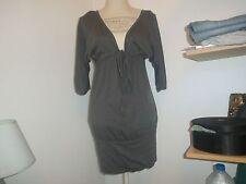 Robe/tunique grise Naf Naf T.XS (=34/36)
