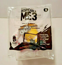 Despicable Me 3 Crab Bite Minion 2017 McDonald's Happy Meal Toy 5 New In Package