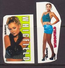 WHIGFIELD DANMARK MUSIC 2 RARE BRAVO SMALL VINTAGE OLD STICKERS R17810