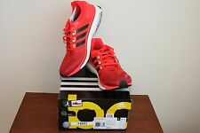 Men's Adidas Energy Boost Running Shoes Q33957 Red Size 10.5