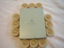 PartyLite Set of 12 Tealights Candles Ginger Currant Nib V04731