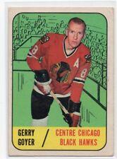 1X GERRY GOYER 1967 68 Topps #54 EX CHICAGO BLACK HAWKS 67-68