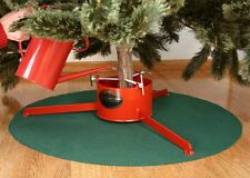 Christmas Tree Skirt - Waterproof Green Mat 32""
