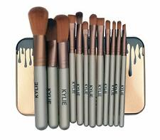 New Makeup Brush Set with 12 Brushes and Storage Box (Multicolour)