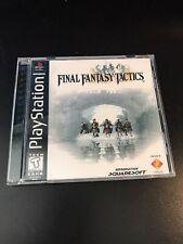 Final Fantasy Tactics Reproduction Case - Ps1 Rpg No Disc