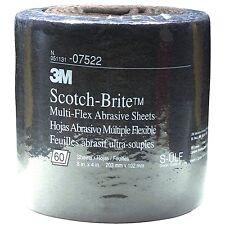 """3M 07522 Scotch-brite Multi-flex Abrasive Sheet Roll, Ultra Fine, 8"""" X 20' 7522"""