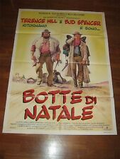 manifesto,POSTER 2F BOTTE DI NATALE 1994,BUD SPENCER TERENCE HILL,Western italy