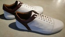 Bruno Magli - White Santana Leather Sneaker