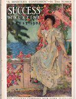 1908 Success August-The Socialist Bugaboo; Cory Kilvert; Basebalogy; Leyendecker