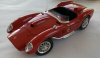 1/18 1980's Bburago Burago Ferrari 250 TR Testarossa, Made In Italy, Red, Boxed!