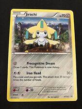 Jirachi XY195 HOLO FOIL Rare  -XY Black Star Promo- NM- Pokemon Mythical