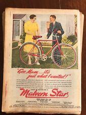 Original Malvern Star bicycles 1940s Vintage Print Advertising Australiana V