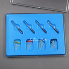 1Box Dentist Product Kit AAA Dental Screw 4 Drills Fiber 20 Pcs Screw Fiber Post