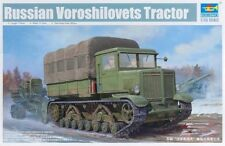 Trumpeter 1/35 Russian Voroshilovets Tractor #01573 #1573  *Sealed*New*