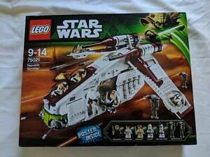 BNIB New Lego Star Wars 75021 Republic Gunship Rare 2013