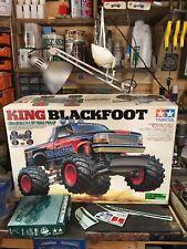 Tamiya Vintage King Blackfoot Original Box Rc Car Spares Rare For Project