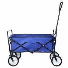 Folding Wagon Collapsible Garden Beach Utility Push Cart Heavy Duty Portable Us