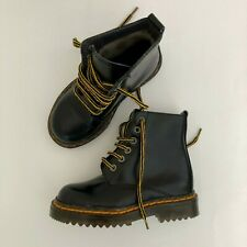 Kid Toddler Boots Shoes Black Yellow US 9 - UK 8 1/2