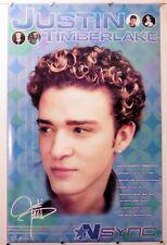 "N Sync - Justin Timberlake solo rare Poster - Music 22.25"" X 34.50"" Nos (b213)"