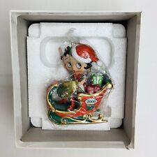 Betty Boop Danbury Mint 2006 Christmas Annual Holiday Ornament Nib