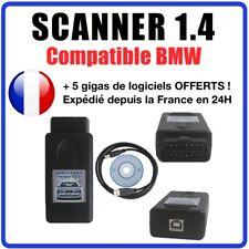 Valise Interface de diagnostic & programmation BMW SCANNER v1.4.0 OBD2 OBDII USB