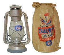 Ejército Británico chalwyn Huracán Lejos Oriental Vintage Aceite Parafina
