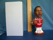2001 MOSES MALONE ROOKIE BOBBLEHEAD SGA PHILADELHIA 76'ERS NEW IN BOX 14 YRS OLD
