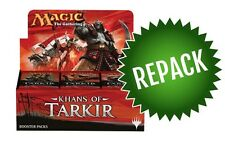 Khans of Tarkir Booster Box Repack! 36 Opened MTG Packs In Box
