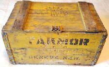 Rare Pre Prohibition Wilber Brewing Co Beer Crate Box Nebraska Takmor Geneva Vtg