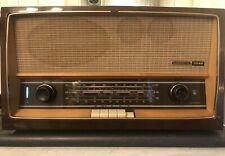Vintage Grundig 2540 Table Radio Receiver Sw, Bc, Fm Works Needs New Tuning Wire