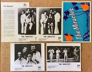 Tamla Motown EMI  The Miracles    1976 UK Press Kit