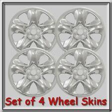 "Chrome Subaru Forester Wheel Skins Hubcaps 16"" 2014-2018 Chrome Wheel Covers"