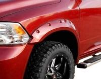 fits 2009-2018 DODGE RAM 1500 RIVET POCKET STYLE KING FENDER FLARES - smooth