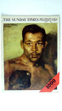 The SUNDAY TIMES Magazine 7th September 1969 Sugar Ray Robinson Tom Thumb