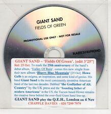 (GU137) Giant Sand, Fields of Green - DJ CD