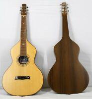 "Musikalia Chitarra Hawaiian Lap Steel Guitar ""Weissenborn style 4"" copy in noce"