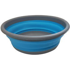 COLLAPSIBLE BOWL FOOD SILICONE FOLDABLE CUP DISH FOOD DRINKS PICNIC CAMPING FISH