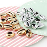 20pcs Galvanisierte Muschel Meer Shell Perlen Schmuck Machen DIY Strand